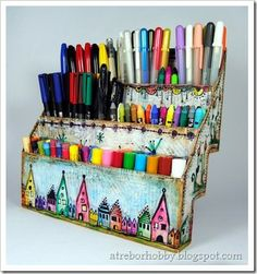 Pen sorting. :)