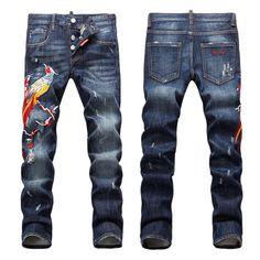 ItemsChina | dsquared2 d2 mens skinny jeans men slim elastic jeans denim biker jeans pants washed black jeans for men blue on replica shop [item no.: dsqjean-369] | replica shop | itemswe.com