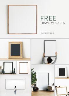 Download beautiful free and premium royalty-free frame mockups as well as other mockups of laptops, phones, iPhones, tablets, iPads, computer, notebooks, books, stationery, corporate identity goods, and people mockups at rawpixel.com