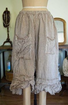 Magnolia Pearl Linen Ansley Bloomer with Three Pockets LOVE THESE BLOOMERS!!!!