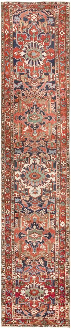 Antique Heriz Persian Rug 46413 Main Image - By Nazmiyal  http://nazmiyalantiquerugs.com/antique-rugs/antique-product-type/antique-heriz-persian-rug-46413/