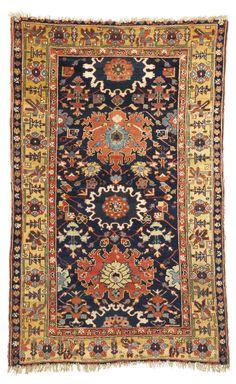 A Kurdish rug, Azerbaijan | lot | Sotheby's