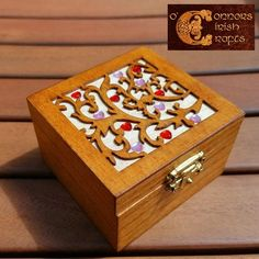 O'Connors Trinket Jewellery Nik Nak Box Wooden with Red & Pink Mini Hearts Jewellery Boxes, Jewelry Box, Celtic Crafts, Mini Heart, Linseed Oil, Craft Shop, Wooden Jewelry, Wooden Boxes, Red And Pink