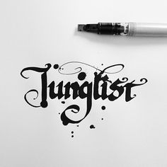 """betype: """" Junglist - Inspired by the work of Niels Meulman """""""