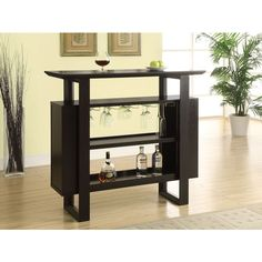 Cappuccino Bar Bottle/ Glass Storage Unit - Overstock™ Shopping - Big Discounts on Bars