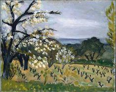 Henri Matisse / Landscape, Nice (1919)
