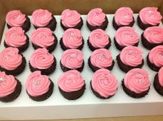 Mini Rossette Cupcakes
