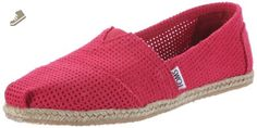 Toms Women's Classic Fuchsia Casual Shoe 8.5 Women US - Toms flats for women (*Amazon Partner-Link)