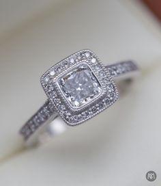27 Best Vintage Inspired Engagement Rings Images On Pinterest