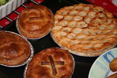 Pies from local butcher in village Local Butcher, England, Foods, Desserts, Kitchens, Food Food, Tailgate Desserts, Food Items, Deserts