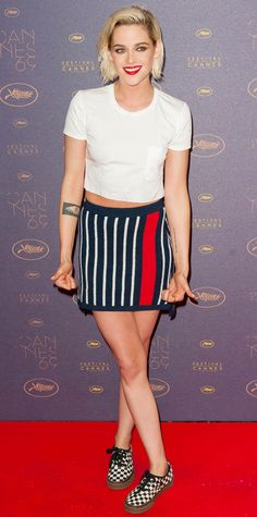 Every Time Kristen Stewart Wore Sneakers at the Cannes Film Festival - At the Cannes Film Festival Opening Gala Dinner from InStyle.com