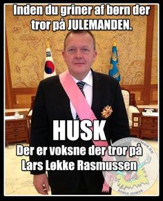 Tror p� julemanden. Funny Texts, Funny Jokes, Different Quotes, Funny Signs, Satire, Wise Words, Quotations, Best Quotes, Funny Pictures