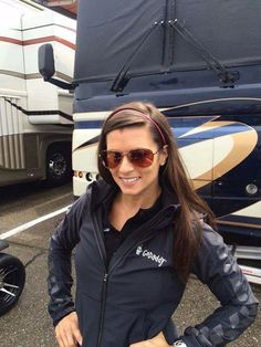 Good luck today and happy to w/ you! Danica Patrick Yoga, Sue Patrick, Wisconsin, Good Luck Today, Ricky Stenhouse Jr, Go Usa, American Racing, Car Girls, Sandra Bullock