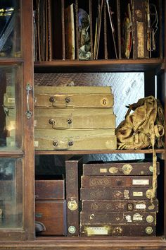 Paper Storage at Carol Hicks Bolton for Where Women Create photographed by Amy Boland Photography