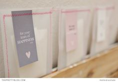 65 FREE Wedding Printables for the DIY Lovers! We adore these tissue bags! Happy tears only!