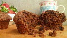 Muffins veganos de chocolate y avena! - mediolimon