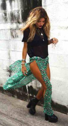 Valentina muntoni is the epitome of Boho beauty.
