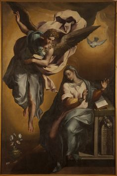 The Annunciation of Mary Gregorio Martínez –1596