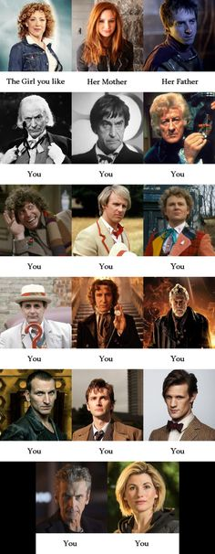 The Girl you like. Doctor Who version