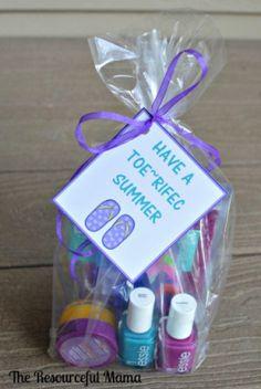 teacher appreciation gift Have a Toe~rifec Summer