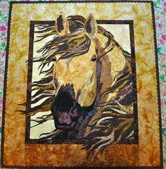 LuAnn Kessi: Horse Quilt #2    http://luannkessi.blogspot.com/2010/12/horse-quilt2.html