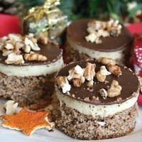 Czech Recipes, Xmas Cookies, Pavlova, Mini Cakes, Food Dishes, Sweet Recipes, Delish, Cheesecake, Food And Drink