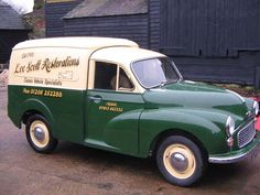 Morris Minor delivery van