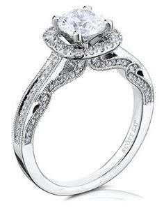 Engagement Ring Inspiration! Board brought to you by My Faux Diamond! www.myfauxdiamond.com #myfauxdiamond #engagementring #jewelry Scott Kay