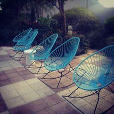 midcentury patio chairs