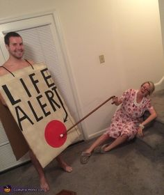 Life Alert Saves the Day - 2014 Halloween Costume Contest via @costume_works
