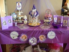 Sofia the First Birthday Party Ideas | Photo 7 of 13 | Catch My Party