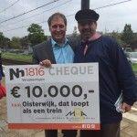 Tienduizend euro voor Oisterwijks treinmuseum