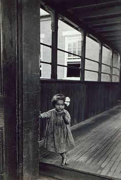 An orphaned girl at a Pennsylvania almshouse for the insane and indigent c. 1919. via Carnegie library.