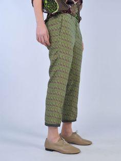 Pantaloni stampa giraffe