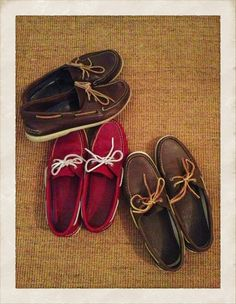 A Classic: Sperry Top-Sider | tedkennedywatson.com