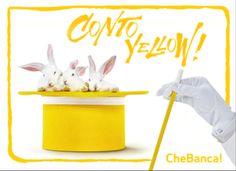 CheBanca! si fa in 3 per te! Nasce Conto Yellow: risparmio, investimenti e strumenti di pagamento innovativi#ad