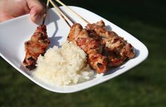 Grilled Pork with Sticky Rice (Khao Neow Moo Ping)