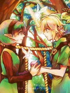 Link and Saria - Ocarina of Time #nintendo #legendofzelda #fanart