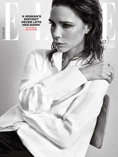 Victoria Beckham for ELLE UK May 2017 Cover