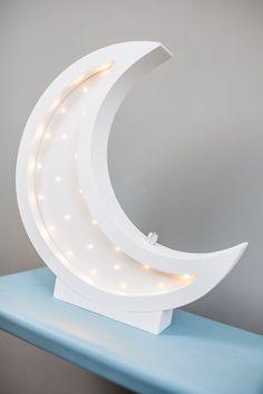 Moon lamp Gift for baby Night light Kids lamp Nursery Star Night Light, Baby Night Light, Nursery Night Light, Diy Wooden Projects, Wooden Diy, Glass Lamp Base, Night Lamps, Night Lights, Kids Lamps