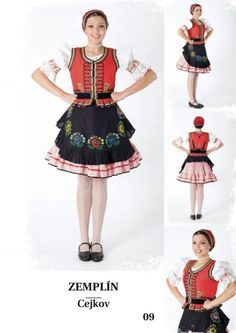 Zemplín region, Eastern Slovakia. The Older I Get, Folk Costume, Dance Costumes, Traditional Outfits, Harajuku, People, Clothes, Czech Republic, Dresses