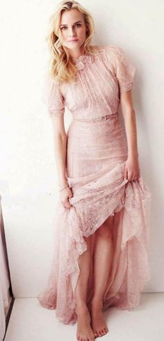 Celeb Diary: Diane Kruger in Glamour UK (martie 2013)