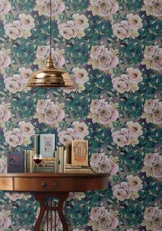 Wallpaper Republic English Roses Wallpaper - Unique designer wallpaper and murals online now - a leading Australian wallcovering boutique Botanical Wallpaper, Rose Wallpaper, Wall Wallpaper, Boutique Wallpaper, Roses Luxury, Wallpaper Manufacturers, Burke Decor, English Roses, Layers Design