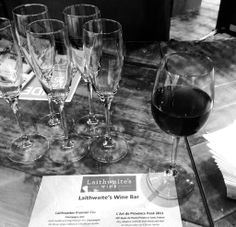 We provide wine glasses, as well as catering equipment to the exhibitors and caterers, for Laithwaites at the Affordable Art Fair.