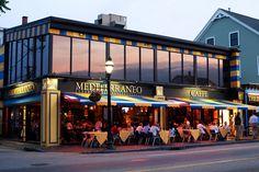 Mediterraneo Caffe - Federal Hill. Providence RI...my absolute favorite. Lobster Ravioli....try it!