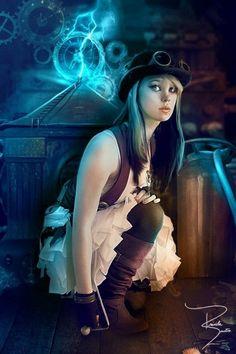 Steampunk Girl http://steampunkgirls.blogspot.com/