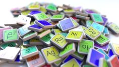 Dysprosium Dy Block on the Pile of Periodic Table of the Chemical Elements Blocks by moovstock Dysprosium tag on the pile of periodic table of the chemical elements tags