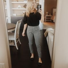 Gingham look for work   #ShopStyle #MyShopStyle