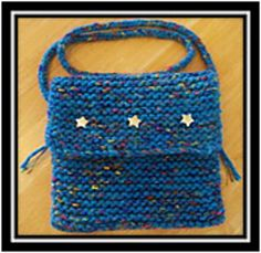 This pattern can be created on any large gauge loom with at least 24 pegs. It can be created in any size (width and height) you desire. The pattern instructions will guide you in creating a bag measuring approximately 8 inches wide by 7 inches deep. Simply cast on more pegs to make the bag wider. Pair up a bulky yarn (or double strands of a worsted weight) with a novelty yarn and have fun!