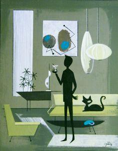 El Gato Gomez ~ Man with his black cat